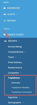 reports - tripadvisor