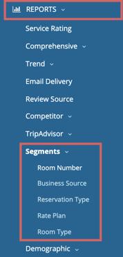segments - menu